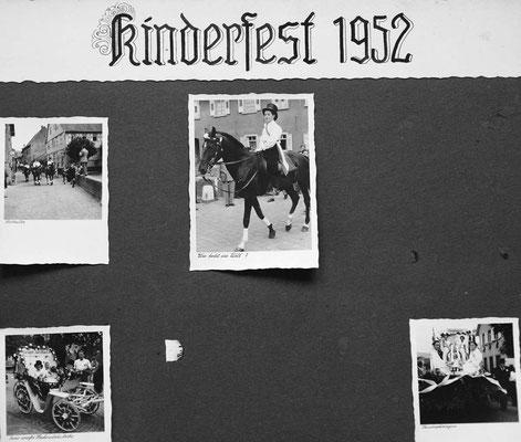 Kinderfest 1952 Nr. 01