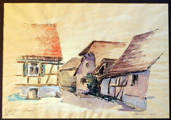 Malscher Skizze 1987