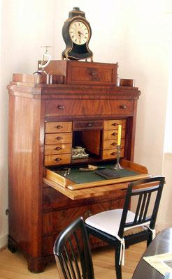 Schreibtisch Theodor Schindler im Schindlerhaus