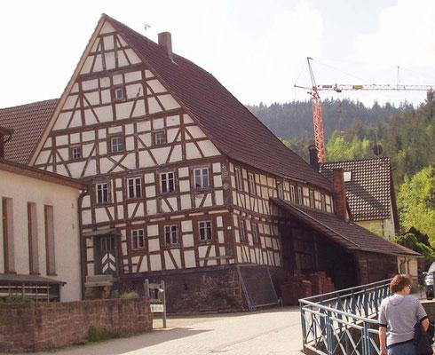 Waldprechtsweier, alte Ölmühle