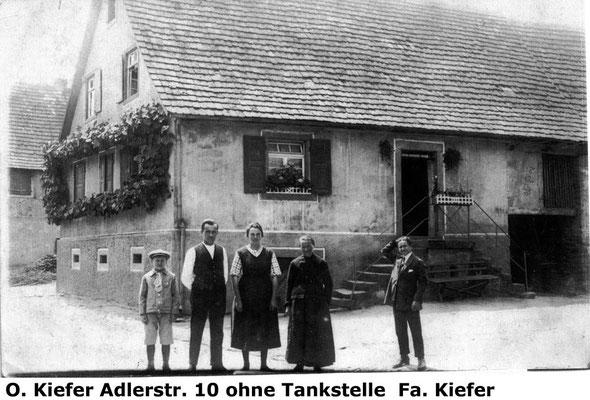 Adlerstraße 10, ehemaliges Elternhaus vor Umbau.