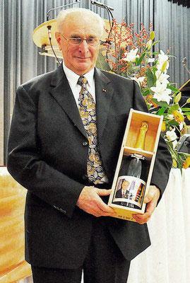 Alois Herzog 2013 Ehrenbürger, Geschenk von Sézanne
