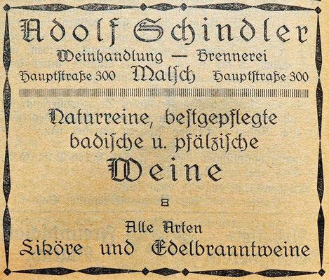 20.5.1925 Schindele