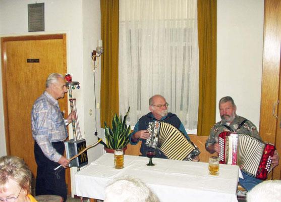 Musiker im Grünen Baum am 6.12.2006
