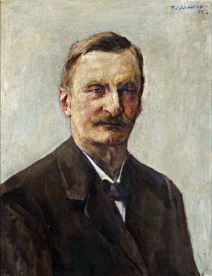 Schindler 1945 dat. Portrait des Adolf Schindler Bruder