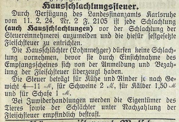 31.10.1924 Gemeindeanzeiger