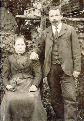 12.11.1888 Weishaupt Stephanie, geb. Kühn & Franz Karl