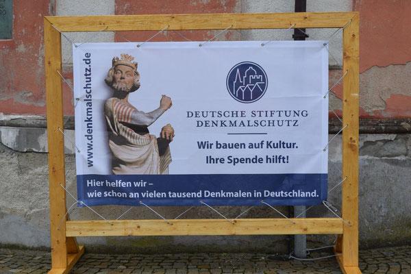 Wir werden von der Deutschen Stiftung Denkmalschutz unterstützt