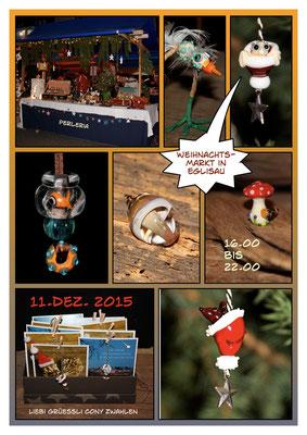Flyer Weihnachtsmarkt 2015