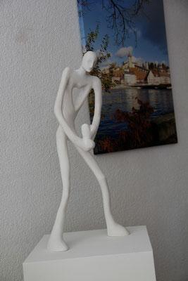 Gips-Figur