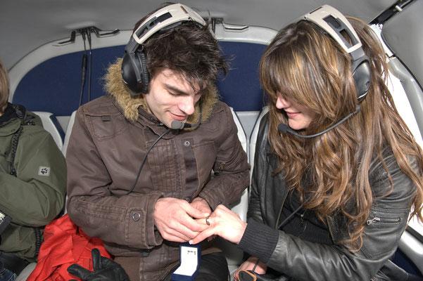 Heiratsantrag Hubschrauberflug Köln