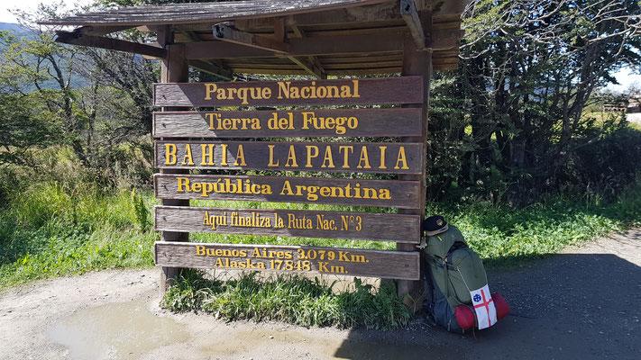 Park National Tierra del Fuego Bahia Lapataia