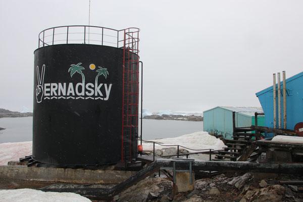 Ukrainische Basestation Vernadsky
