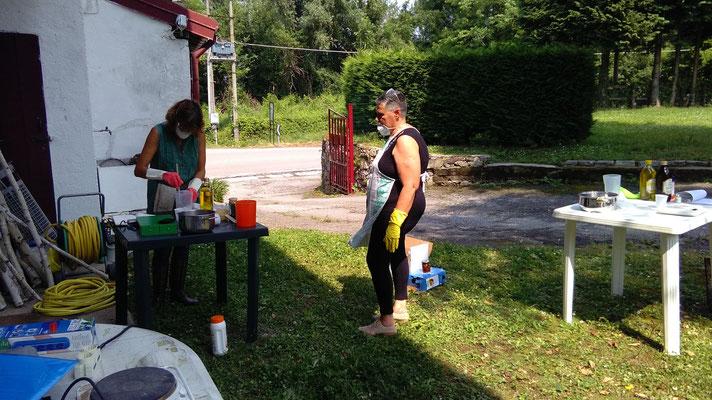 preparazione soda caustica