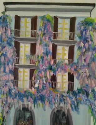 """""""Casa con glicini"""""""