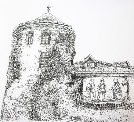 Lienz, alte Stadtmauer