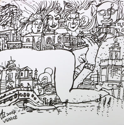 Traum nach Besuch in Venedig