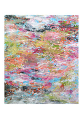 Christa Schmid-Ehrlinger o.T. I  1,00x1,20  Acryl    2017