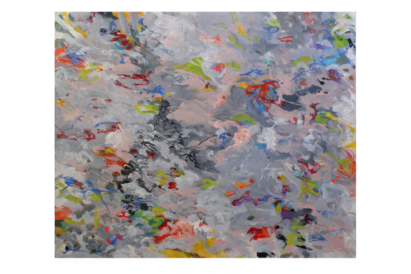 Christa Schmid - Ehrlinger , o.T. 3 ,  2016 ,  Acryl auf Leinwand , 100 x 120 cm
