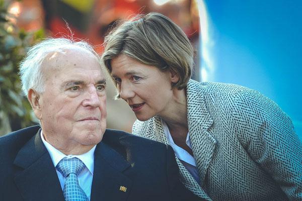 Helmut Kohl und Maike Kohl-Richter