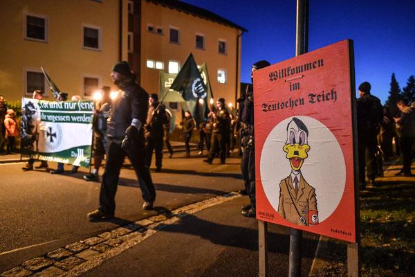 Nazi-Demo in Wunsiedel