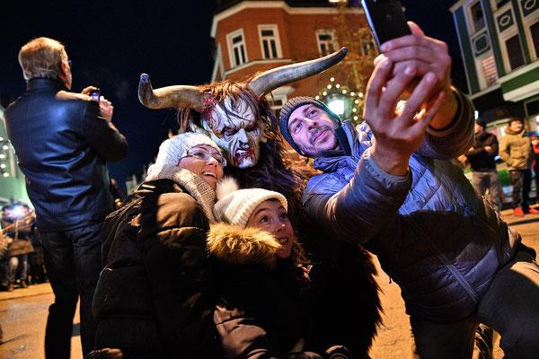 Marktredwitz | Selfie mit dem Krampus