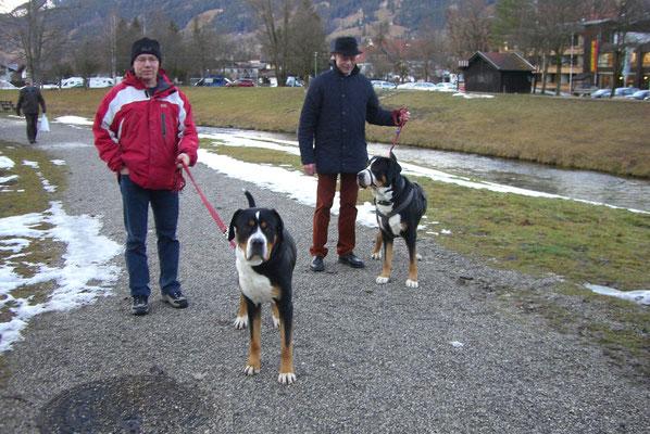 Besuch beim Bruder Paul in Oberammergau