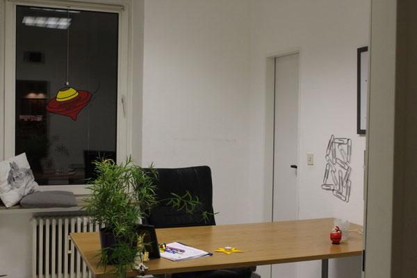 Ein weiteres Büro ist fertig gestaltet.