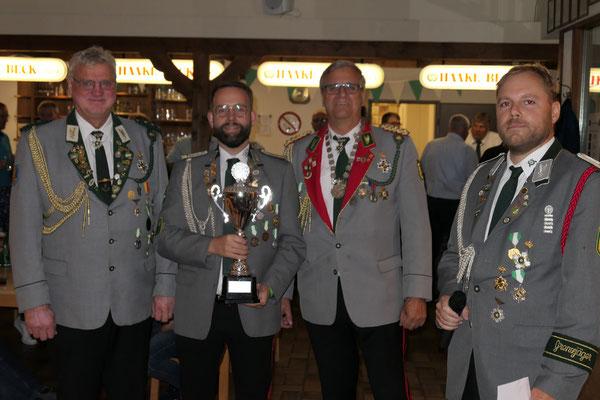 Holger Mais gewinnt den Bürgermeisterpokal