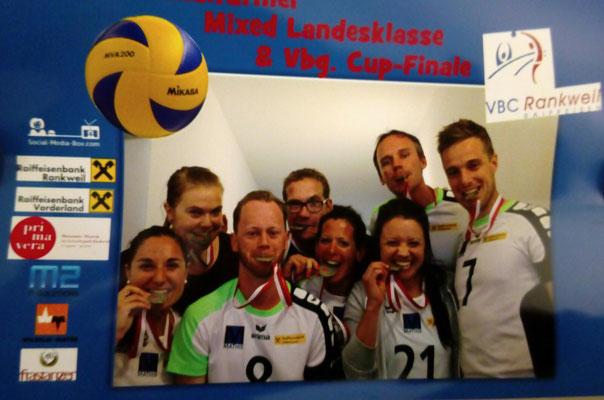 3. Rang der Mixed-Mannschaft in der Landesklasse