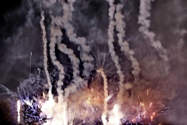 Neuhardenberg-Nacht 2012, Feuerwerk