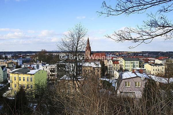 Blick von der Goethetreppe