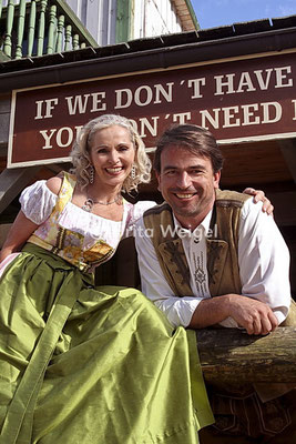 Filmpaar Sonja und Robert