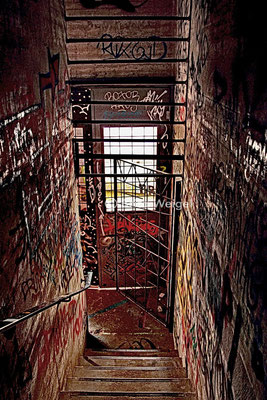 Teufelsberg Berlin - verfallene, ehemalige US-amerikanische Abhörstation