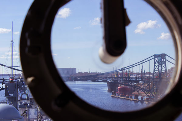 View from the Destroyer Mölders