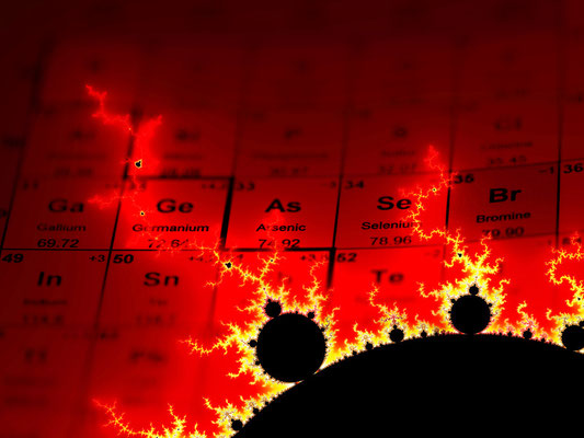 Periodic Table with Fractal