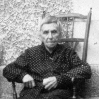 Pauline MASTIN (1863-1959), Deauville, août 1952