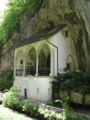 Solothurn, In der Verenaschlucht