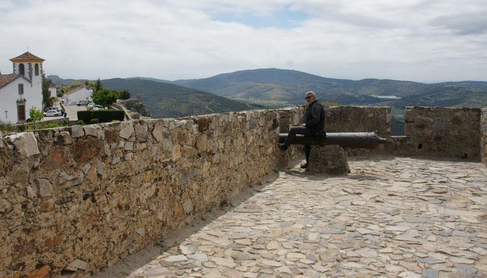 Oben auf der Festung