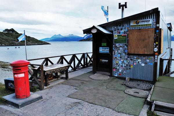 Die südlichste Post der Welt nahe Ushuaia