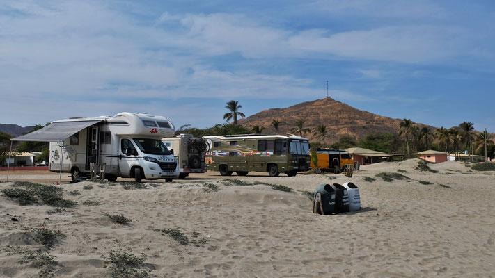 Es ist sehr schön am Strand von Los Organos.....