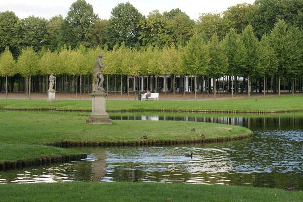 Teiche im Park vom Schloss Schwerin