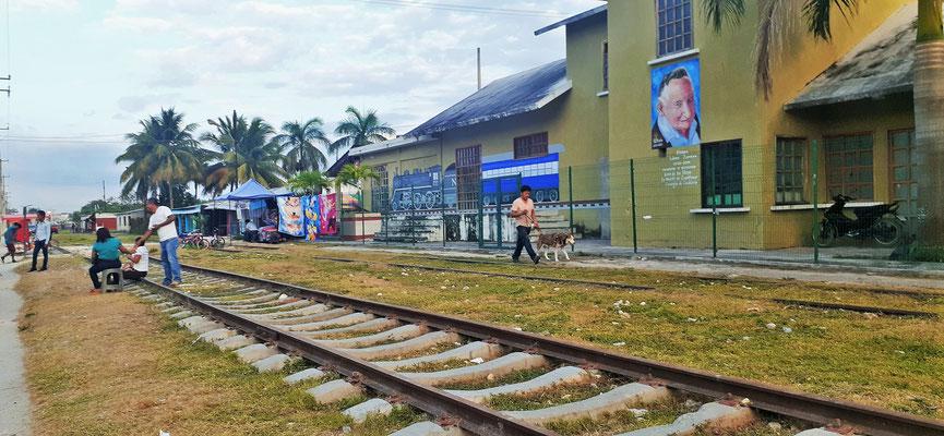 Candelaria der Bahnhof