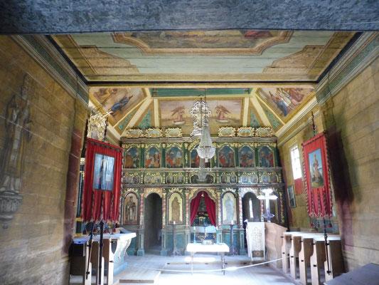 Auch Kirchen sind hierher verpflanzt worden.