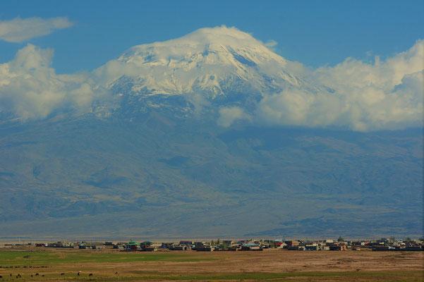 Nochmal einen Blick auf den Ararat
