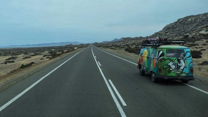 Chilenische Touristen sind auch Richtung Norden unterwegs