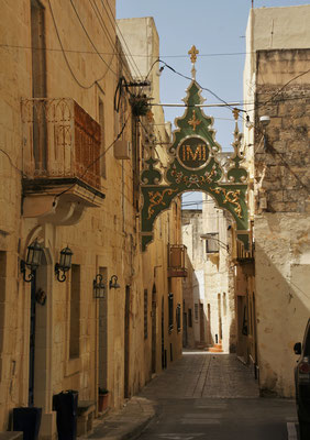 Seitengassen in Rabat