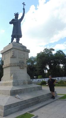 Stefan der Grosse. Nationalheld von Moldawien. Auf jeder Banknote vertreten