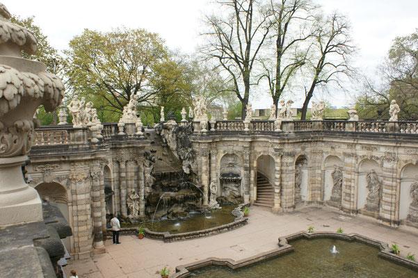Der Nymphenbrunnen im Zwinger