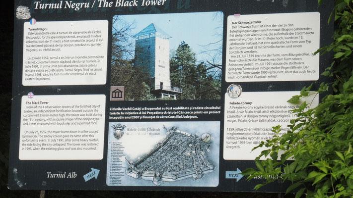 Verschiedene Türme in Brasov wurden restauriert